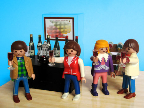 PLAYMOBIL WINE BAR STIRS OUTRAGE | The pick of the best wine stories from social media and across the 'net | Scoop.it