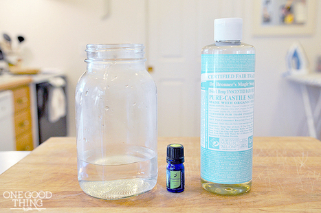 Make Your Own Reusable Peppermint Kitchen Wipes   One Good Thing by Jillee   Aromatherapy plus   Scoop.it