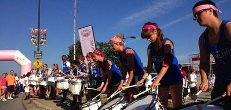 SM North drummers provide inspiration for Susan G. Komen event | Prairie Village Post | OffStage | Scoop.it