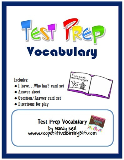 Cooperative Learning 365: Test Prep Vocabulary | Seasonal Freebies for Teachers | Scoop.it
