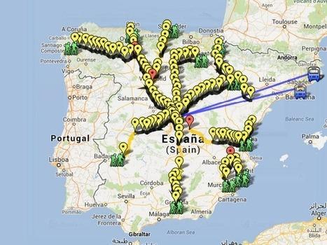 Marchas por la Dignidad #Marchas22M que llegarán a #Madrid el #22M | Los mapas del #15M | Scoop.it