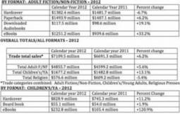 Les ebooks représentaient 23% des revenus des éditeurs US en 2012 | Le livre numérique est-il l'avenir du livre ? | Scoop.it
