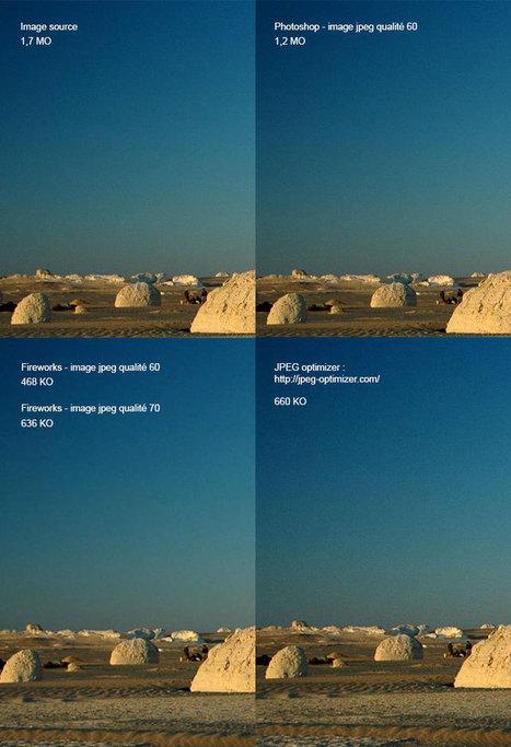 Optimiser les images pour le web | my web garden | Scoop.it