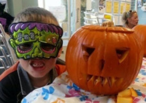 Kids create spooky pumpkins in competition - Worthing Herald | My Child Learns UK | Scoop.it