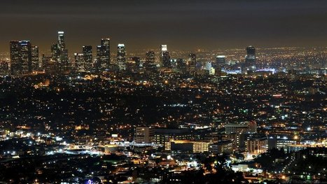 Huge impressive city at night. Widescreen wallpapers for mobile devices towns. | CityWallpaperHD | Scoop.it