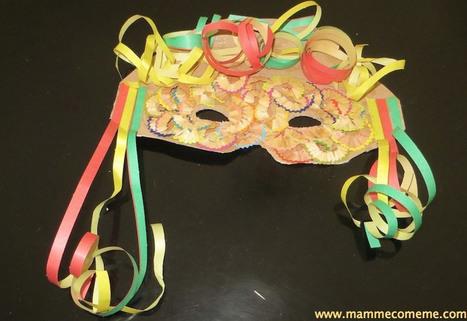 Mamme come me: Maschera di Carnevale | Lavoretti | Scoop.it