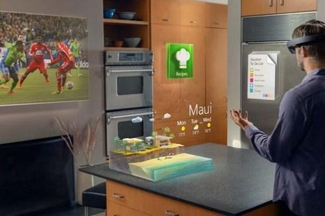 HoloLens, le casque de réalité augmentée qui fait saliver | Clic France | Scoop.it