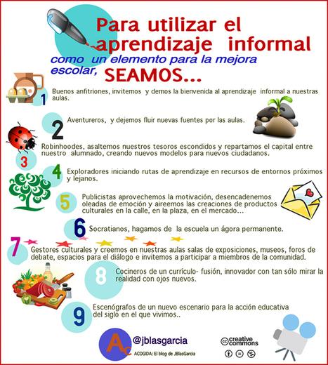 CUED: El aprendizaje informal: elemento para la mejora escolar | Educacion, ecologia y TIC | Scoop.it