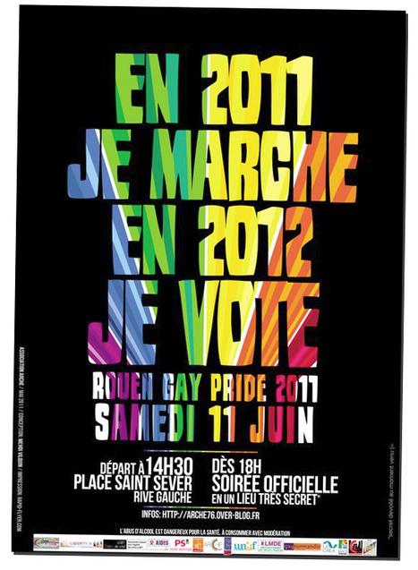 A Rouen, samedi, une gay pride plus politique que jamais - Têtu | Da Rouen et zalentours | Scoop.it