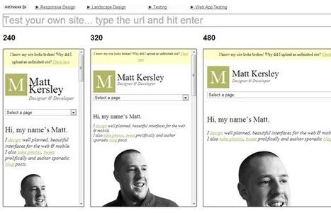 25 Free Tools for Creating Responsive Website Layouts | SpyreStudios | Responsive Website Design | Scoop.it