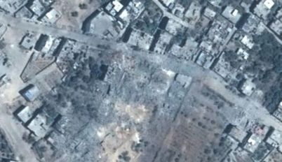Before and after: Satellite photos reveal extent of Gaza destruction - Diplomacy and Defense | Saif al Islam | Scoop.it