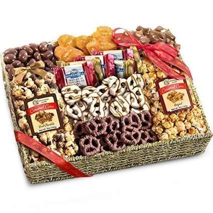Chocolate, Caramel and Crunch Grand Gift Basket - All Holidays Win | Nothing But News | Scoop.it
