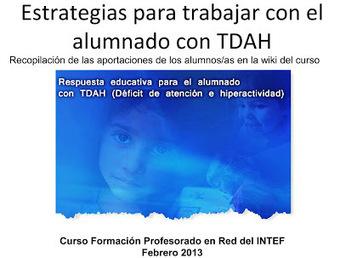 ACCESIBILIDAD E INCLUSIÓN: Estrategias para trabajar con el alumnado con TDAH | Leer en la escuela | Scoop.it