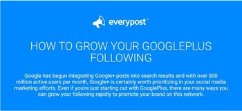 Grow your Google+ audience organically with these tips (Infographic) | Business in a Social Media World | Scoop.it