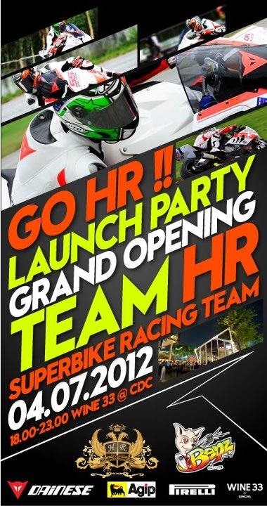 Invitation: HR SuperBike Racing Team Launching Party   FMSCT-Live.com   Scoop.it