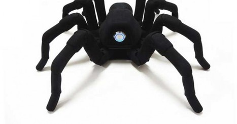 3D-Printed T8 Robotic Spider Makes Eerily Realistic Movements With 26 Motors | Invent To Learn: Making, Tinkering, and Engineering in the Classroom | Scoop.it
