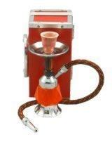 Mini Hookah Shihsa 7'' Pocket Hookah with a Case Red Modern Nargila Stylish Hooka | Hookah Online | Scoop.it