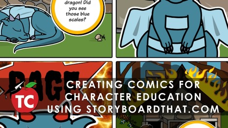 Comics for Character Education using StoryboardThat | E-learning | Scoop.it