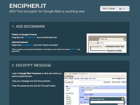 Crypter un mail sur Gmail, Yahoo, Hotmail et tous les autres | La petite revue du journaliste web | Scoop.it
