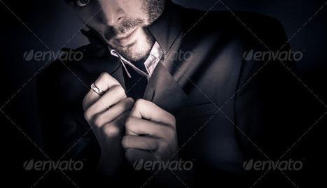 Stylish man wearing mens fashion accessories - Stock Photo ... | men's fashion | Scoop.it