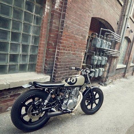 Custom Yamaha SR500   Vintage et Café Racer   Scoop.it