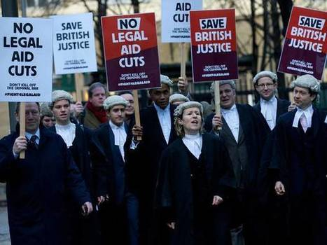 Legal aid cuts: Criminal barristers' strike will go ahead despite last-minute feud with solicitors | SocialAction2015 | Scoop.it