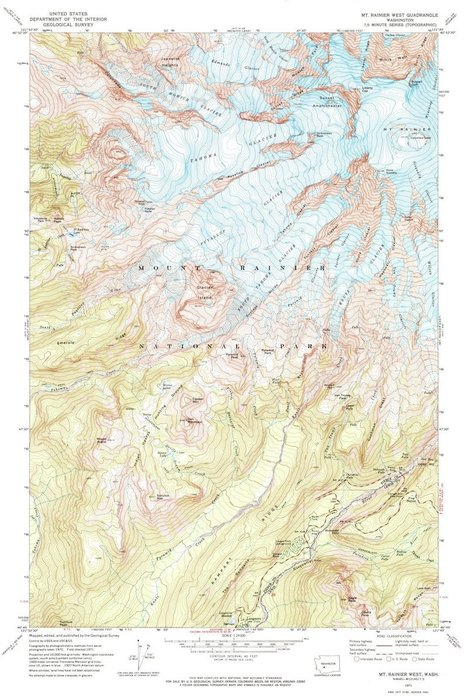 Browse More Than 1,000 National Park Maps, All in One Place | Notebook | Scoop.it