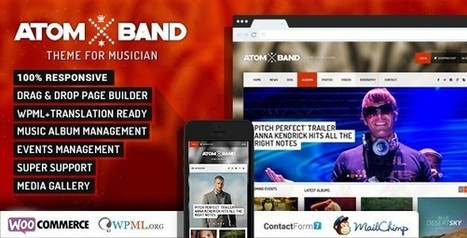 35+ Best Responsive Music WordPress Themes | AWD | Web Designs | Scoop.it