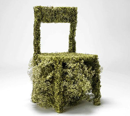 Asif Kahn's Spectacular Furniture Made from Flowers | Superb Garden Features | Scoop.it