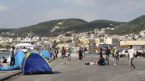 A Story of Refugees Arriving in Greece | News for IELTS + Class Discussion | Scoop.it