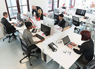 Cost Efficient, Open-space Office Designs: Ditching Desks -- and Privacy - Knowledge Wharton Today | Hub Birmingham | Scoop.it