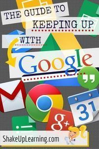 Google Resources, tutorials, and  more from Shake Up Learning | Teacher Training | Scoop.it
