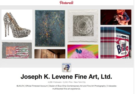Follow Art Pins curated by Joseph K. Levene Fine Art, Ltd. on Pinterest | Pinterest | Scoop.it