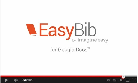 Easy Way To Create Bibliography Entries in Google Docs ~ Educational Technology and Mobile Learning | Tools, Tech and education | Scoop.it