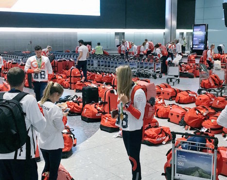 "British Olympic Athletes All Used Same Luggage, Had a ""Fun"" Time Finding Their Bag at the Airport 