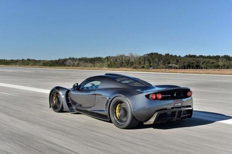 Hennessey Venom GT Beats The Bugatti Veyron Sports Car Speed Record | My Dream Garage | Scoop.it