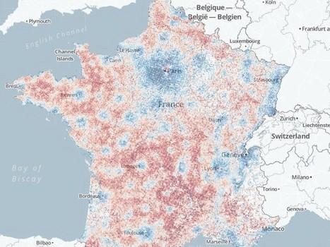 [Revenus] En bleu les riches, en rouge les pauvres... Rue89 | Communication - Consommation - Economie_Mode Pause | Scoop.it