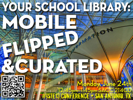 Your School Library: Mobile, Flipped, & Curated | Daring Library Ed Tech | Scoop.it