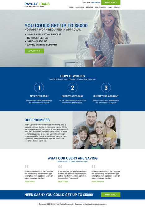 Responsive website templates launched on Buylandingpagedesign.com | BuyLPDesign Blog | best landing page design | Scoop.it