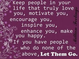 Keep people in your life that truly love you. - Quotes | dailysms4u | Scoop.it
