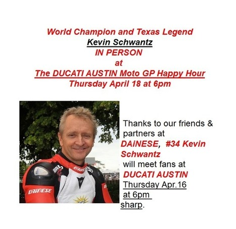 Austin MotoGP Weekend Ducati Happy Hour Party | Ductalk Ducati News | Scoop.it