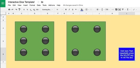 Google Sheet Interactive Dice! | IT 4 Learning | Scoop.it
