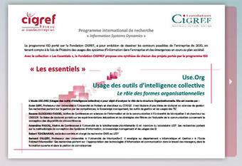 Fondation CIGREF - Usage des outils d'intelligence collective | Communautés de pratiques | Scoop.it