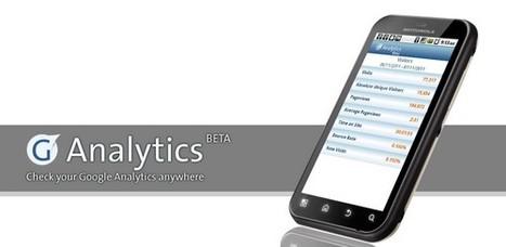 3 applications Google Analytics pour Android | Entrepreneurs du Web | Scoop.it