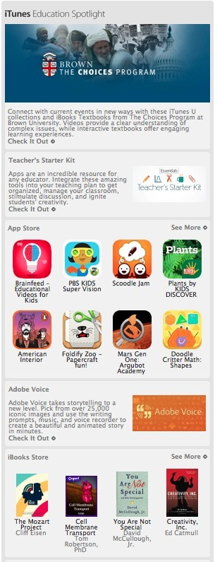 Go Brainfeed Go!  Brainfeed was featured today in Apple's iTunes Newsletter. Thank you Apple! | Educational Video for Kids | Scoop.it