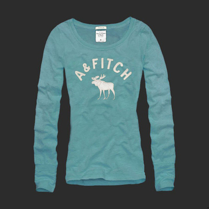 A&F Womens Long Tees-Abercrombie Ireland Online Save Up To 60% | Abercrombie and Fitch | Scoop.it