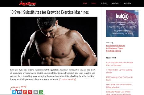 Redline Fitness | Showcase of custom topics | Scoop.it