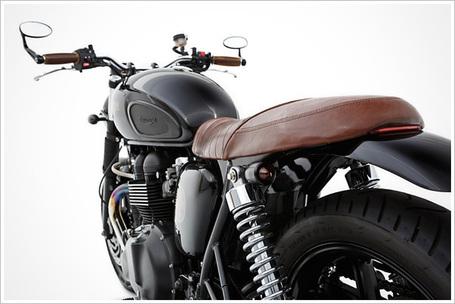 Triumph Bonneville - Ellaspede | Cafe Racers | Scoop.it