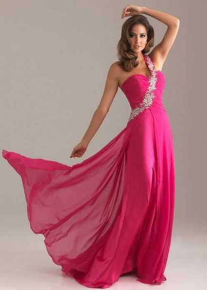 Fuchsia Long Chiffon Beaded Night Moves 6491 Prom Dress | Sexy | Scoop.it