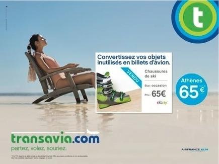 Transavia.com innove pour vendre ses billets d'avion | Article sur le Management | Scoop.it